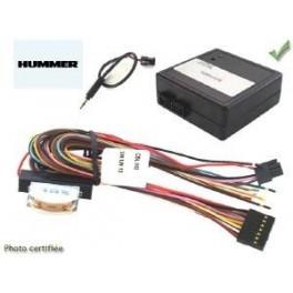 COMMANDE VOLANT HUMMER H2 2005- - Pour Pioneer complet avec interface specifique