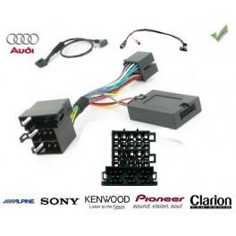 COMMANDE VOLANT Audi A6 2006- - Pour SONY complet avec interface specifique