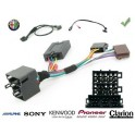 COMMANDE VOLANT Alfa Spider 2007- - Pour SONY complet avec interface specifique