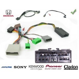 COMMANDE VOLANT Honda Civic 2006-2011 - Pour Pioneer complet avec interface specifique