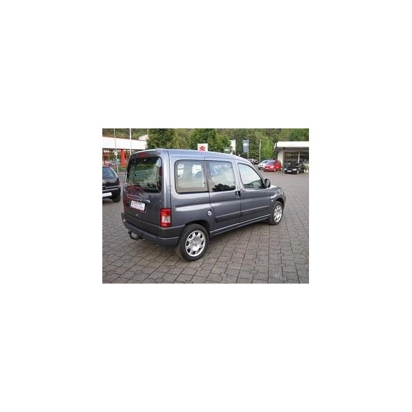 attelage citroen berlingo 1996 2008 col de cygne attache remorque gdw boisnier attelage. Black Bedroom Furniture Sets. Home Design Ideas