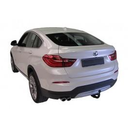 ATTELAGE BMW X4 2014- (F26) - Col de cygne - attache remorque GDW-BOISNIER