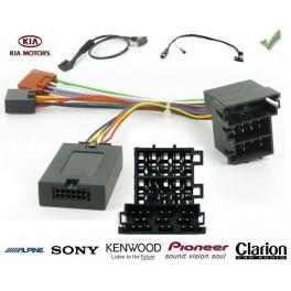COMMANDE VOLANT Kia SOUL 2012- AVEC AMPLI FILAIRE RCA - Pour Pioneer complet avec interface specifique