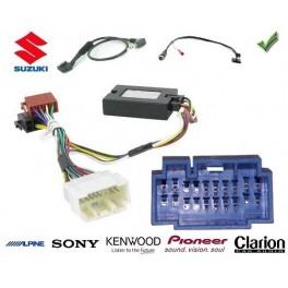 COMMANDE VOLANT Suzuki Swift SPORT 2006- - Pour Pioneer complet avec interface specifique