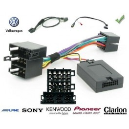 COMMANDE VOLANT Volkswagen Polo 2001-2005 - Pour SONY complet avec interface specifique