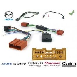 COMMANDE VOLANT Mazda 2 2007-2010 - Pour Pioneer complet avec interface specifique