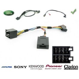 COMMANDE VOLANT Land Rover Discovery 2003-09/2009 LOW LINE - Pour Pioneer complet avec interface specifique