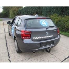 ATTELAGE BMW SERIE 1 2011- (5 Portes F20) - RDSO demontable sans outil - attache remorque GDW-BOISNIER