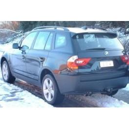 ATTELAGE BMW X3 2004-2010 (E83) - RDSO demontable sans outil - attache remorque GDW-BOISNIER