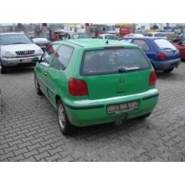 ATTELAGE VOLKSWAGEN Polo berline(pare-chocs en PVC)+ Variant+ Van - 1996- 2001- RDSOH demontable sans outil -