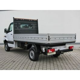 ATTELAGE VOLKSWAGEN CRAFTER CHASSIS 06/2006-04/2017 - Rotule equerre - attache remorque GDW-BOISNIER
