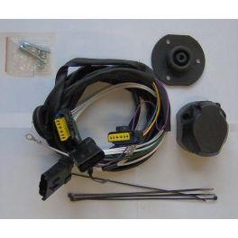 Faisceau specifique attelage AUDI A6 Allroad 06/2012- - 7 Broches montage facile prise attelage