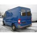 ATTELAGE MERCEDES Sprinter III 01/1995-05/2006 - fourg/avec marche-pied d'origine - roues jumelees:emp 3550mm Rotule equerre